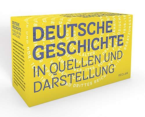 Deutsche Geschichte in Quellen und Darstellung: 11 Bände in Kassette (Reclams Universal-Bibliothek)