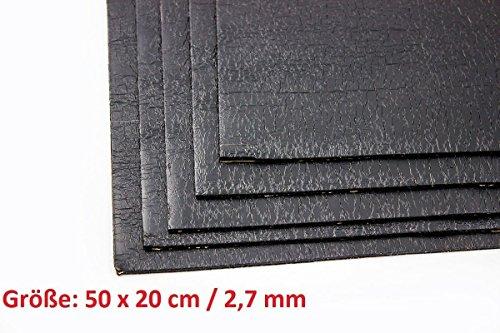 ADM ADM-Matte Anti-Dröhn-Matte Bitumenmatte, Anti/Droehn/Matte, 50 x 20 cm groß x 2,7 mm dick, selbstklebend Türdämmung Dämmung Dämmmaterial Dämmmatte Carhifi Autohifi Oldtimer (8)