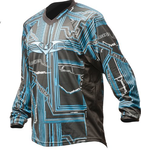 Valken Crusade Paintball Jersey Tron blue, Größe:S