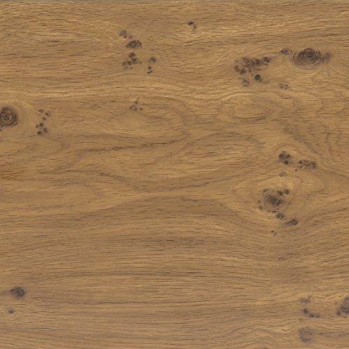Venilia Klebefolie Perfect Fix Eiche Astig, Holzfolie, Dekofolie, Möbelfolie, Tapeten, selbstklebende Folie, keine Luftblasen, Natur-Holzoptik, 45cm x 2m, Stärke: 0,15 mm, 53334