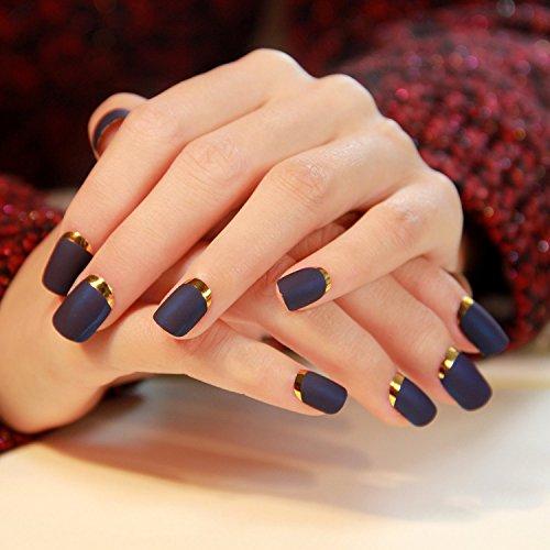 Künstliche Fingernägel False Nail Tips Fake Nails, French Style - MS003 Nail Sticker Tattoo - FashionLife