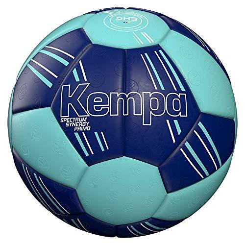 Kempa Unisex– Erwachsene Spectrum Synergy Primo Ball, DEEP BLAU/Light BLAU, 3