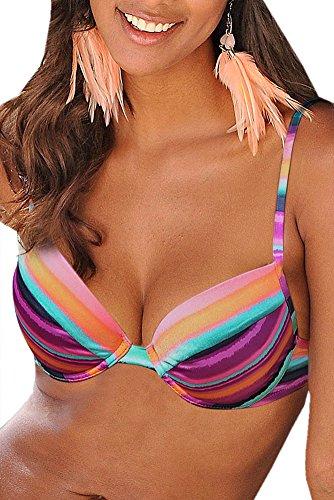 Lascana Bikini Oberteil Mix-Kini, bunt, B38