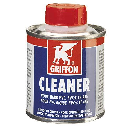 Unbekannt Griffon Cleaner PVC, PVC-C & ABS (125 ml)/ Reinigungsmittel zur Reinigung und Entfettung zu verklebender Rohre, Muffen und Fittings