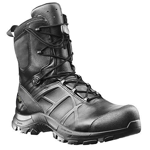 Haix Black Eagle Safety 50 high Funktionelle Einsatzstiefel: Sicherheit für Polizei, Militär und Workwear. 45