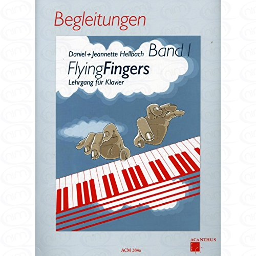 Flying fingers 1 - arrangiert für Klavier [Noten/Sheetmusic] Komponist : HELLBACH DANIEL + HELLBACH JEANNETTE