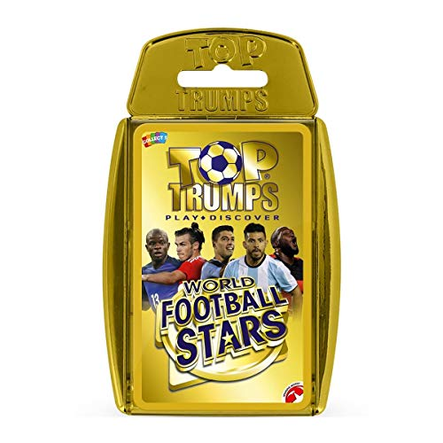Top Trumps 32155 WFS Gold Gehäuse, World Football Stars