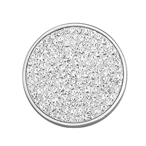 AKKi jewelry Magnet-brosche Anhänger Stern für Kleidung, Schals, Tücher und Ponchos Damen Magnet-schmuck Baum des Lebens Blume Magnet-Pin Kleider Farbe Silber Schmuck mit Strass Wert #27