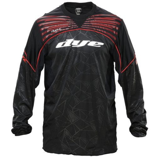 Dye Ultralite Paintball Jersey 2014 - Black/Red, Größe:XXXL