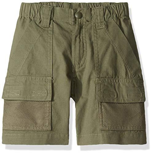 Columbia Youth Jungen Half Moon Short Atmungsaktiv UPF 15 Sonnenschutz, Jungen, athletische Shorts, Half Moon™ Short, Zypresse, XX-Small