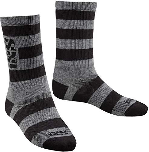 IXS Triplet Socken, 3er-Pack, mehrfarbig, S Casual, Erwachsene, Unisex, Schwarz