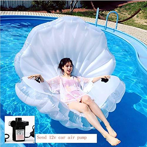 AA100 Aufblasbares Schwimmbad Wasserspielzeug schwimmendes Meerdeck, schwimmendes Wasserbett (mit Luftpumpe),Electricinflatable