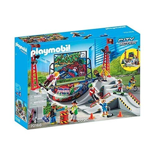 Playmobil City Action 70168 Skatepark mit 4 Skateboards