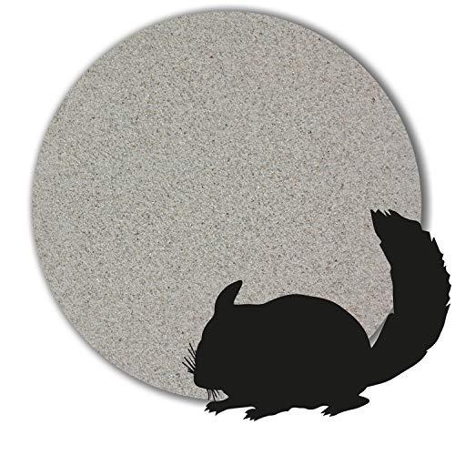 1 kg - 25 kg Chinchilla Sand Badesand hocherhitzt keimfrei samtweich hellgrau (25 kg)
