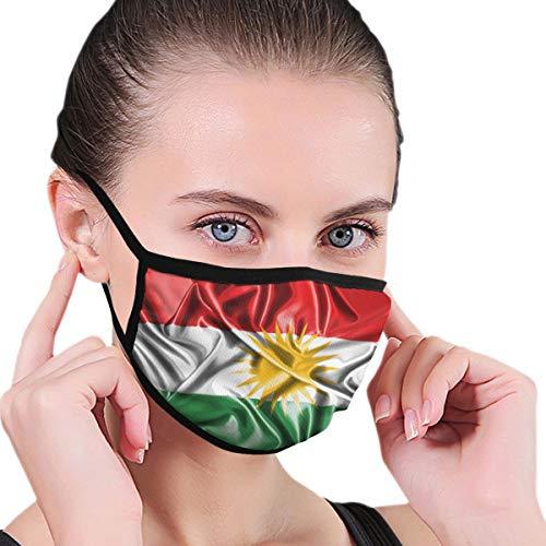 nonbrand Kurdistan Kurd Kurden Kurdische Flagge, Poster, staubdicht, winddicht, wiederverwendbar, waschbares Tuch, Gesichtsabdeckung, Abdeckung für Staub Männer Frauen