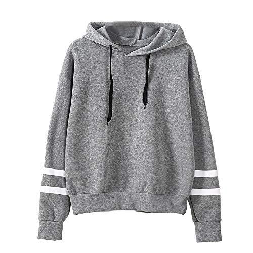 G-Anica Kapuzenpullover Damen Sweatshirt Langarm Rundhals Tumblr Pullover Hoodie Sport Casual mit Kapuzen Sweatjacke Oberteile