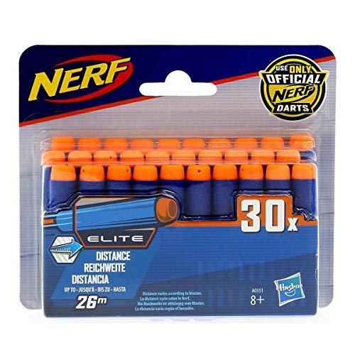 Hasbro Nerf A0351 N-Strike Elite 30er Dart Nachfüllpack, Multicolor