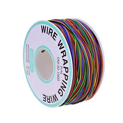 YoungRich 280m Isolierungs Test Verzinnte Kupfer Solid Kabel 30AWG 8 Farben für Laptop Motherboard Elektronischer Test
