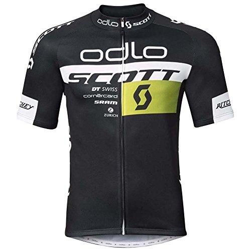 Odlo 491652-sos17–Stand-up Collar S/S Full Zip Scott Odlo