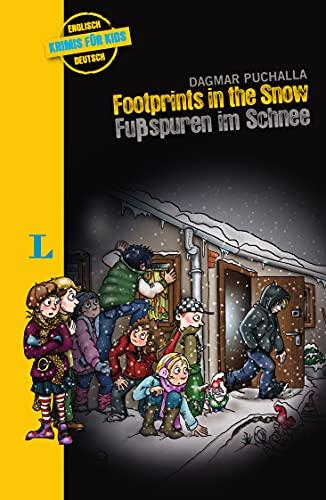 Langenscheidt Krimis für Kids - Footprints in the Snow - Fußspuren im Schnee, Englische Lektüre für Kinder, 1.-2. Lernjahr