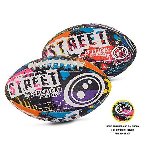 OPTIMUM Unisex-Adult Street American Football, Mehrfarbig, Mini, Graffiti