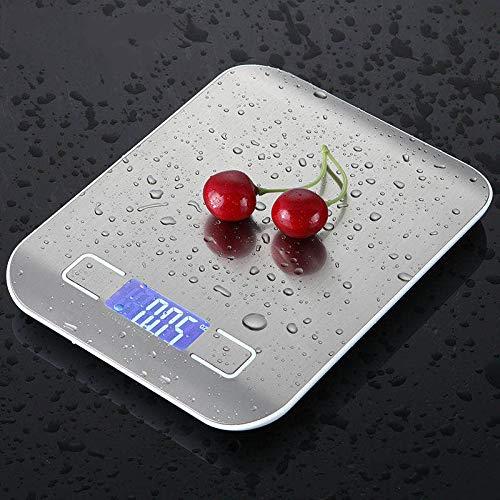 Iordan Küchenwaage mit 10kg Maximalgewicht Digital Kitchen Scale Professionelle Electronische küchenwage mit großem LCD-Display wunderbare Präzision Maximalgewicht