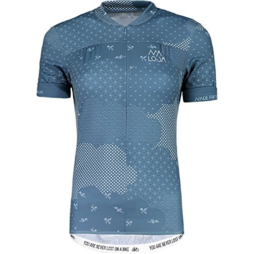 Maloja bettam. 1/2 Technische Trikot, Damen M Blau (Blueberry)