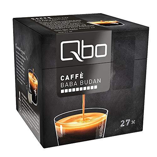 Tchibo Qbo Caffè Baba Budan Kapseln, 216 Stück – 8 x 27 Kapseln (Kaffee, dunkle Schokolade)