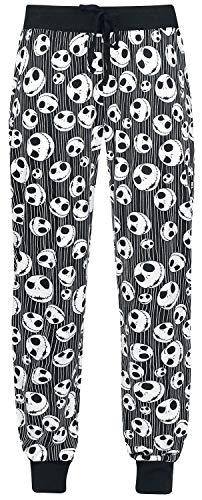 The Nightmare Before Christmas Jack Skellington - Skulls Frauen Pyjama-Hose schwarz XL