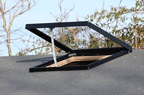 Activent Dachfenster und Oberlichter für Schuppen, Hütten, Gartenhäuser und alle Holzgartengebäude