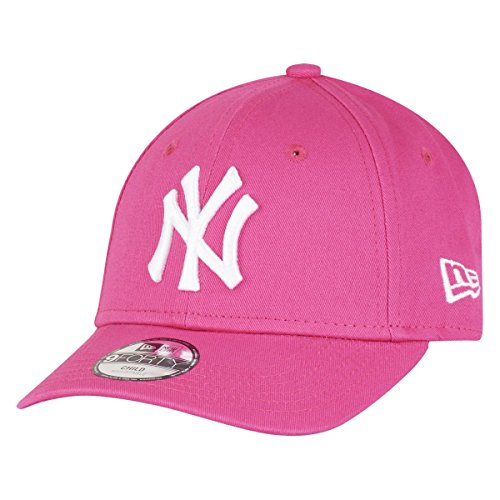 New Era 9Forty Stretched Kids Cap - NY Yankees pink - Child