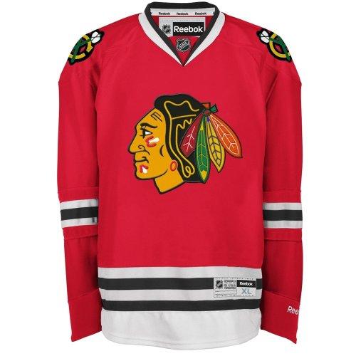 Reebok Chicago Blackhawks Premier Eishockey NHL Trikot Home S