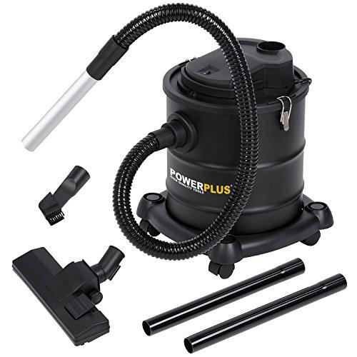 POWER plus PowerPlus Aschesauger POWX308, Schwarz, 20 Liter