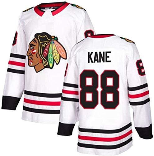Sweatshirts Langarm T-Shirt, Eishockey Trikot, Genähte Buchstaben und Zahlen Sweatshirt, Filmversion Hockey fan Retro Sport Top (Color : 88, Size : XXL)