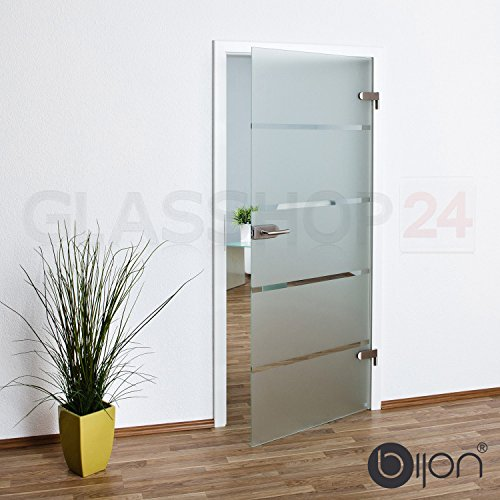bijon® Glastür T6 | Studio/Studio | 834x1972 mm | DIN Links