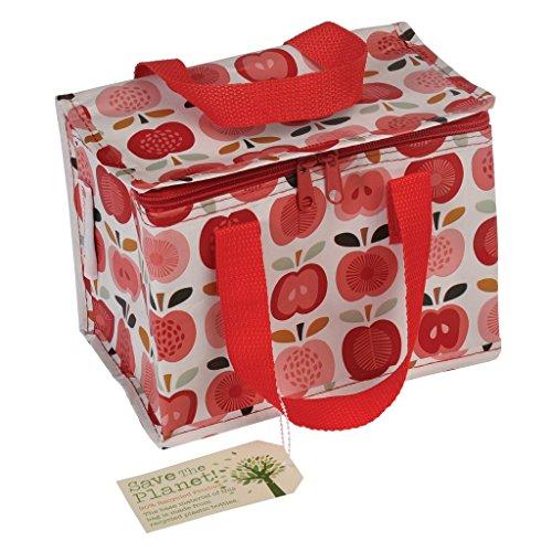 Rex London Minikühltasche Snacktasche Lunch Bag isolierte Lunch Tasche aus recycelten Plastikflaschen (Apfel)