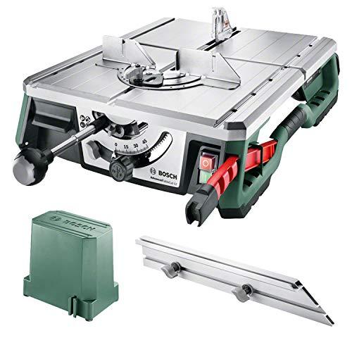 Bosch Tischsäge AdvancedTableCut 52 (550 Watt, mit NanoBlade Technologie, bis zu 52mm Schnitttiefe, im Karton)