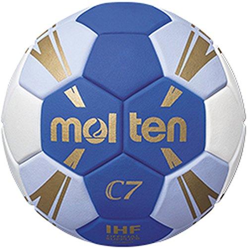 Molten C7 Trainingsball blau/weiß/Gold 0