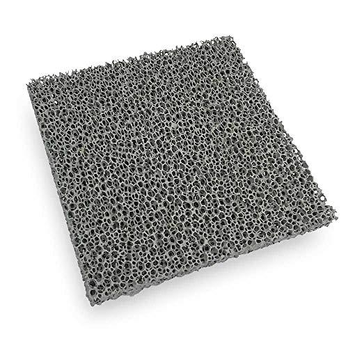Flamado Kaminofen Feinstaub Rußfilter 200 x 200 x 22 mm Kamin Brennraum Ersatzteil