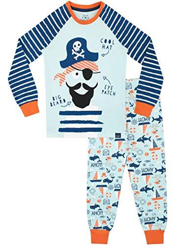 Harry Bear Jungen Piraten Schlafanzug Slim Fit Blau 110