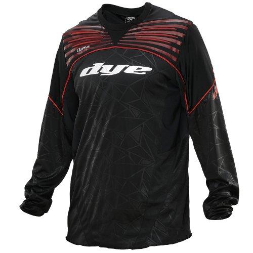 Dye Ultralite Paintball Jersey 2014 - Black/Red, Größe:XXXL