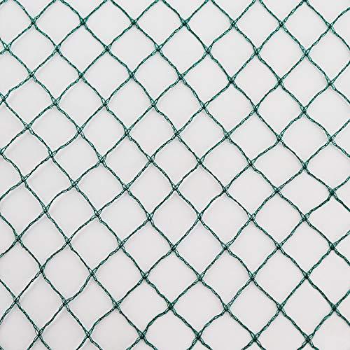 Vielseitiges Teichnetz 12m x 10m grün 17mm x 17mm Masche I Aquagart Laubschutznetz Teich Abdecknetz Vogelschutznetz Laubnetz Teichabdeckung