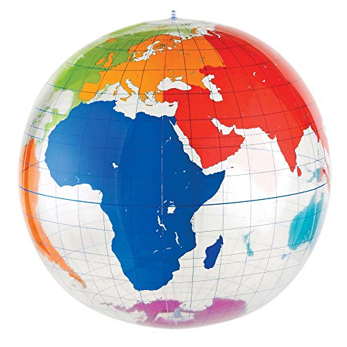 Learning Resources Riesiger aufblasbarer Globus zum Beschriften