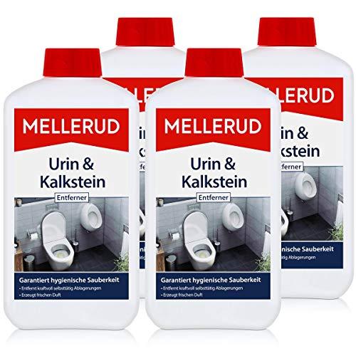 4x Mellerud Urin und Kalkstein Entferner 1L