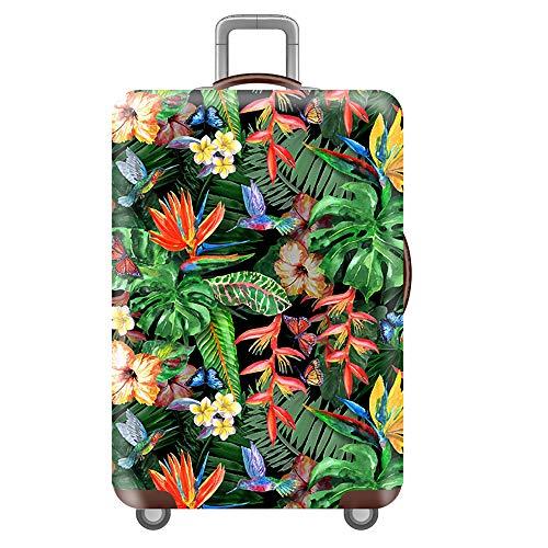 Kofferhülle/Elastisch Kofferschutz/Reisekoffer Hülle/Luggage Cover Zum 18-32 Zoll Gepäckabdeckung.Kratzfeste elastische Hülle,Obstpflanze [L] 4