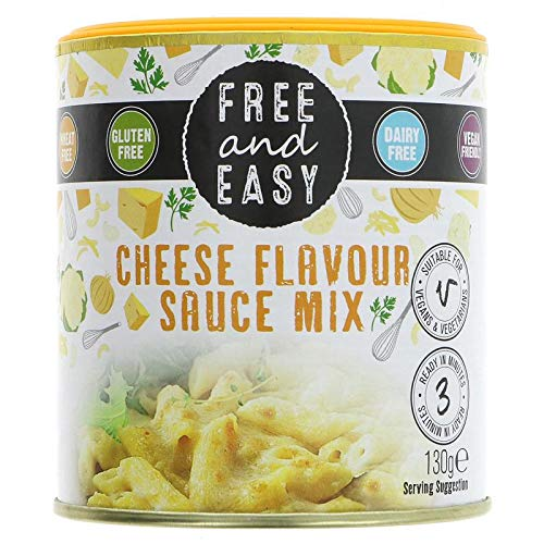 Free & Easy | Cheese Flavour Sauce Mix | 4 X 130G