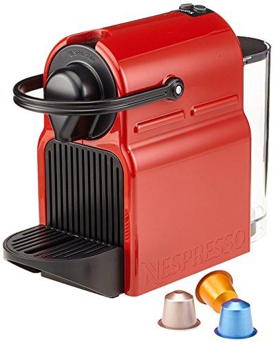 Krups XN100510 Nespresso Inissia Kaffeekapselmaschine, Ruby red