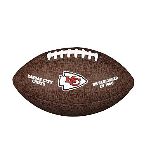 Wilson NFL Team Logo Composite Fußball, Kansas City Chiefs, Official