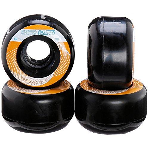 chaya Octo Wheels, Paseo, 78A, 4er Rollschuhe Zubehör, schwarz, 62mm