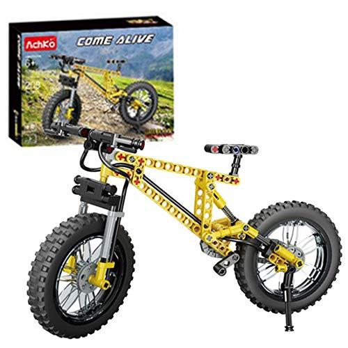 ReallyPow Technik Fahrrad Bausteine Modell, Mountainbike, Fahrrad Bauset Kompatible mit Lego Technic - 209 Teile